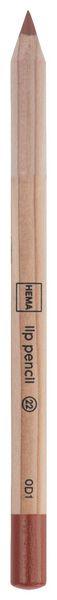 lip pencil rood - 11230122 - HEMA