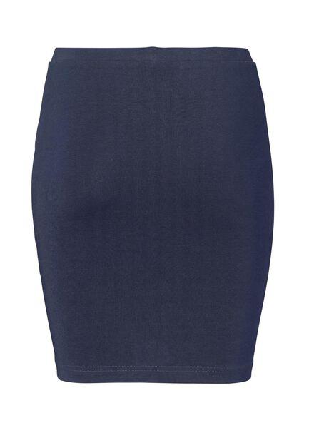 damesrok - biologisch katoen donkerblauw donkerblauw - 1000004763 - HEMA