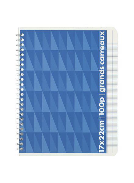 schrijfblok A5 - geruit 5 x 5 mm - 14185211 - HEMA