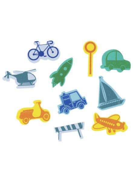 foam stickers voertuigen - 15920026 - HEMA