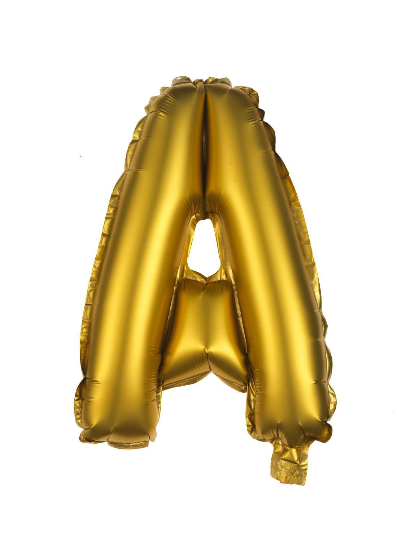 HEMA Folie Ballon A-Z Goud (goud)