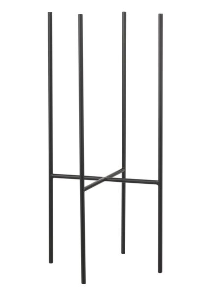 bloempot houder - 55 cm - zwart - 13391052 - HEMA
