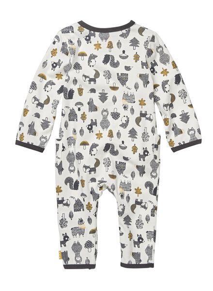 newborn jumpsuit gebroken wit gebroken wit - 1000009955 - HEMA