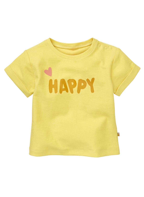 HEMA Baby T-shirt Geel (geel)
