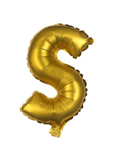 folie ballon S goud S - 14200257 - HEMA