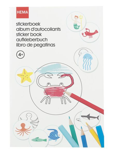 stickerboek - 15910084 - HEMA
