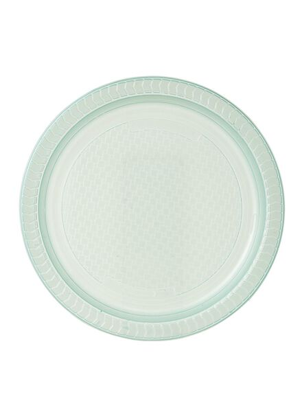 10-pak plastic bordjes - 14230021 - HEMA