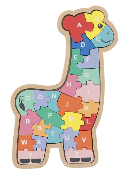 houten giraffen puzzel - 15110219 - HEMA