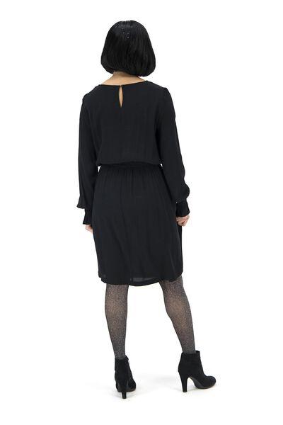 damesjurk zwart zwart - 1000017179 - HEMA