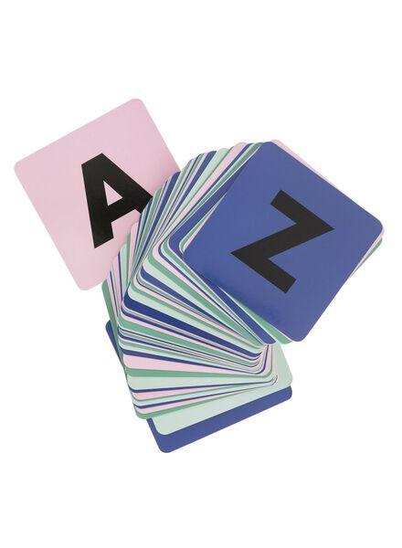 alfabet geheugenspel - 60200350 - HEMA