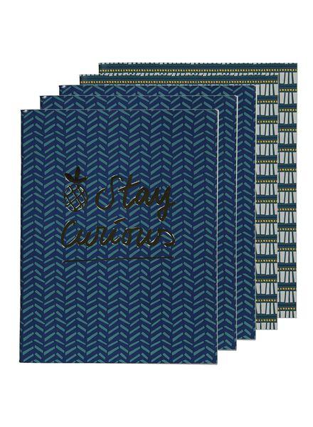 schriften 21x16.5 - gelinieerd - 5 stuks - 14501405 - HEMA