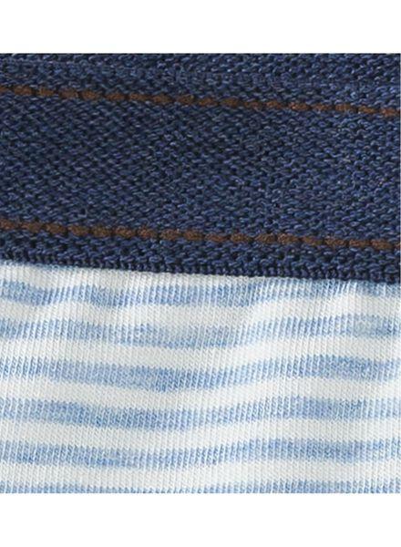 3-pak kinder boxers blauw blauw - 1000001617 - HEMA