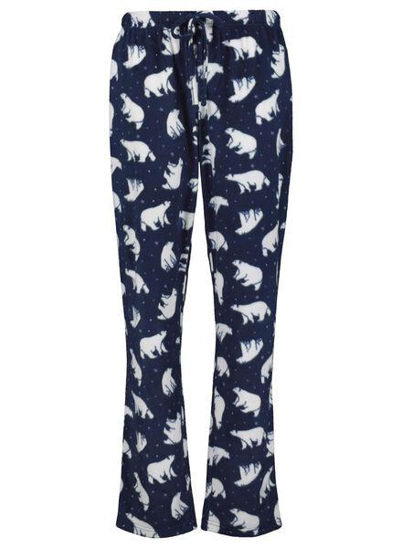 dames pyjama donkerblauw donkerblauw - 1000017253 - HEMA