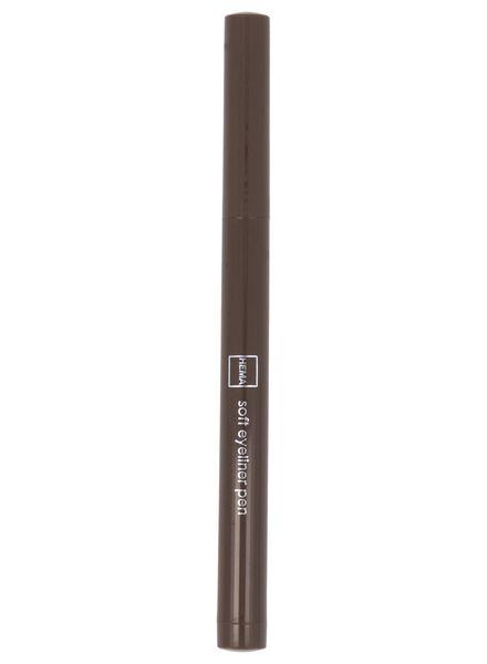 soft eyeliner waterproof 79 brown - 11210179 - HEMA