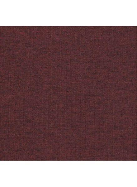 damesjurk donkerrood donkerrood - 1000014823 - HEMA