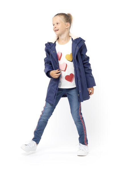 kinderjas donkerblauw donkerblauw - 1000013557 - HEMA