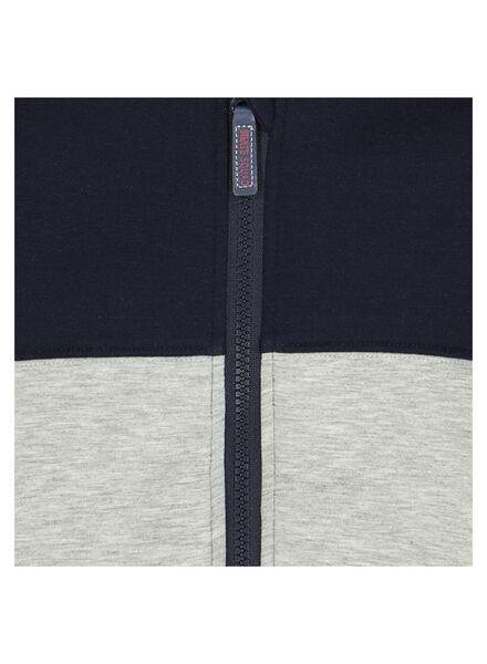 kinder sweatvest donkerblauw donkerblauw - 1000013749 - HEMA