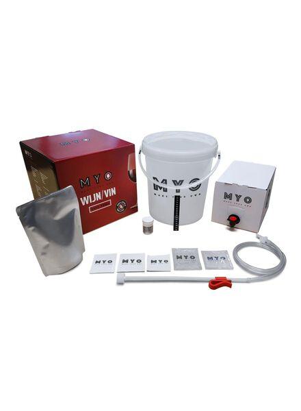 make your own kit - rode wijn - 17430117 - HEMA