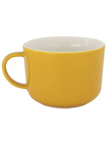 cappuccinomok - 330 ml - Chicago - geel - 9602107 - HEMA