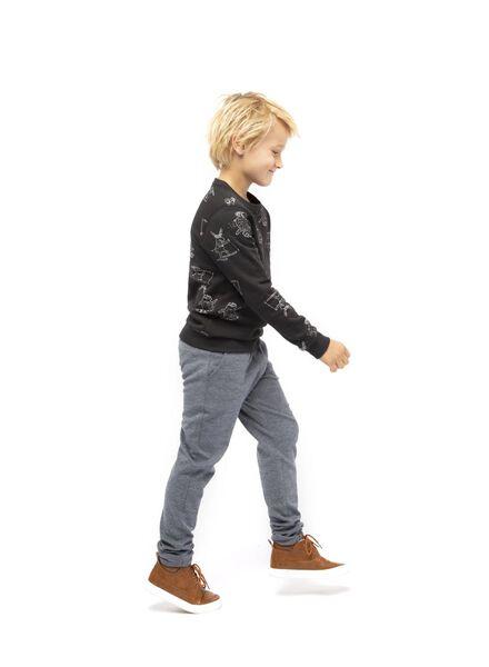 kindersweater zwart zwart - 1000017206 - HEMA