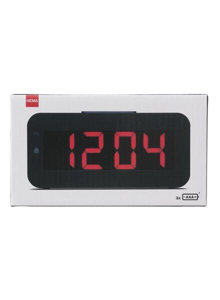 wekker digitaal LED - 13780007 - HEMA