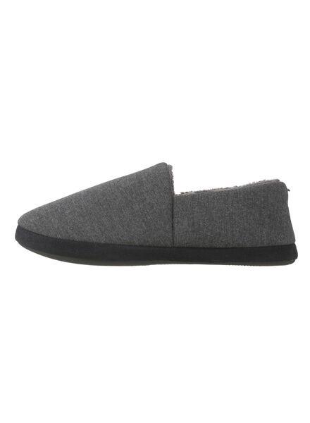 heren pantoffels grijs grijs - 1000009116 - HEMA
