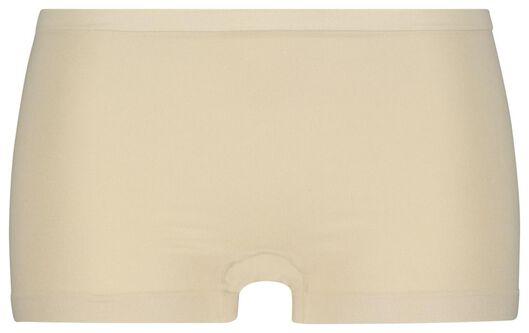 damesboxer naadloos micro beige beige - 1000019882 - HEMA
