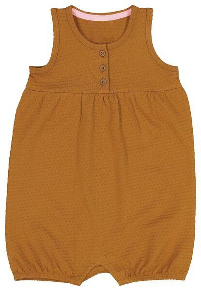baby jumpsuit bruin bruin - 1000019664 - HEMA