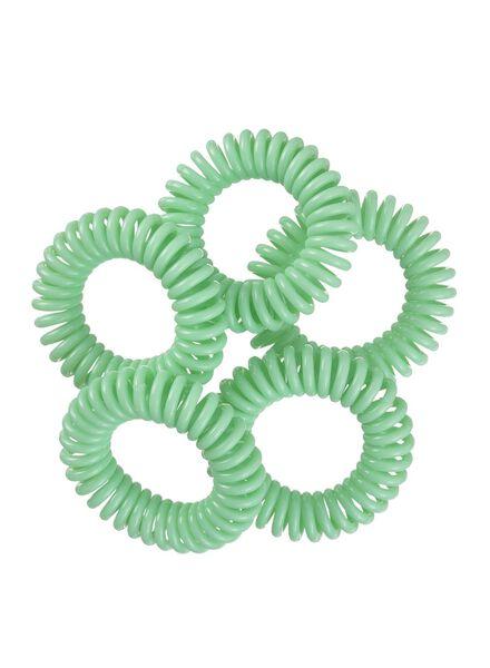 5-pak spiraal elastiekjes - 11870025 - HEMA