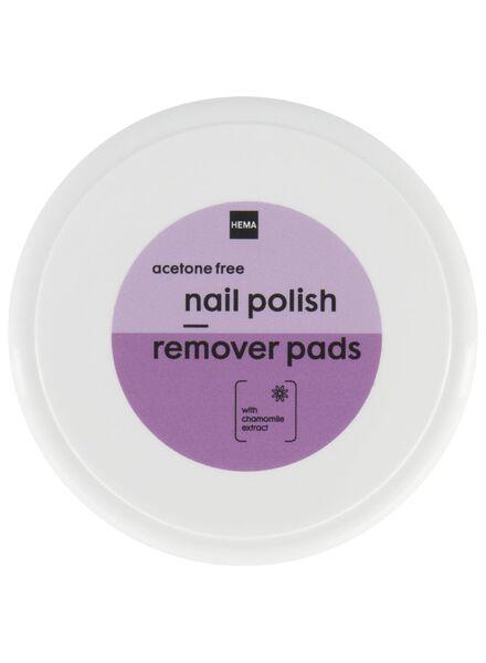 nagellak remover pads - 11243084 - HEMA