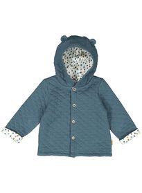e9fa7dc98a9 newborn jasje gewatteerd - biologisch katoen blauw
