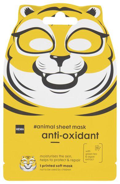 HEMA Sheetmasker Anti-oxidant Tijger