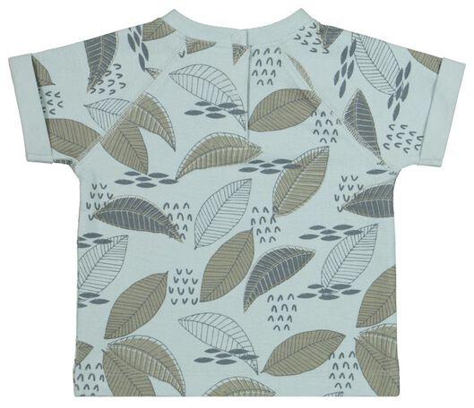 baby t-shirt blauw - 1000019268 - HEMA
