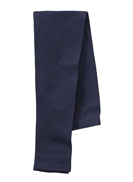 meisjeslegging donkerblauw donkerblauw - 1000006293 - HEMA