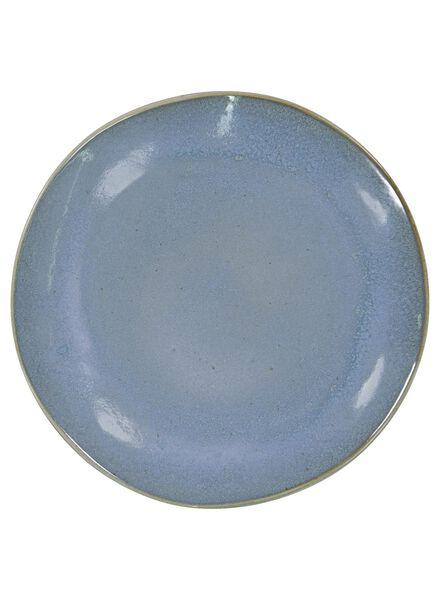 dinerbord - 26 cm - Porto - reactief glazuur - blauw - 9602021 - HEMA