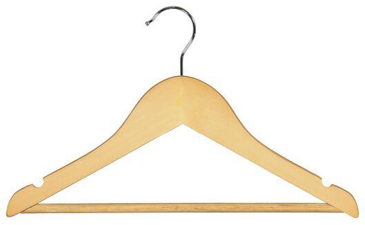 kledinghangers kind hout - 6 stuks - 13211173 - HEMA