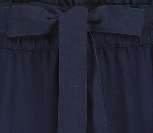 damesrok donkerblauw donkerblauw - 1000019347 - HEMA