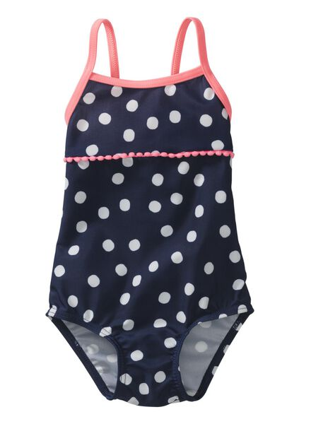 baby badpak donkerblauw donkerblauw - 1000004896 - HEMA