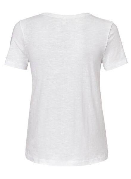 dames t-shirt wit wit - 1000013027 - HEMA
