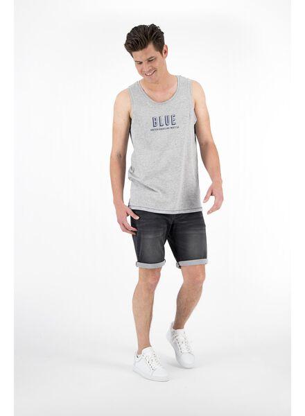 heren jog denim blauw blauw - 1000012944 - HEMA