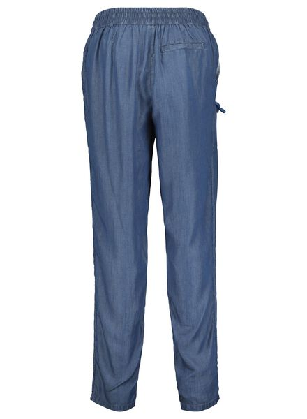 damesbroek middenblauw middenblauw - 1000014771 - HEMA