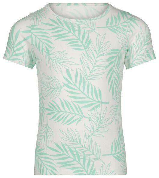 kinder t-shirt bladeren groen groen - 1000023621 - HEMA
