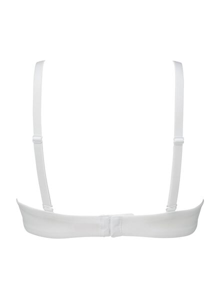 padded bh - support zonder beugels B-D wit wit - 1000002492 - HEMA