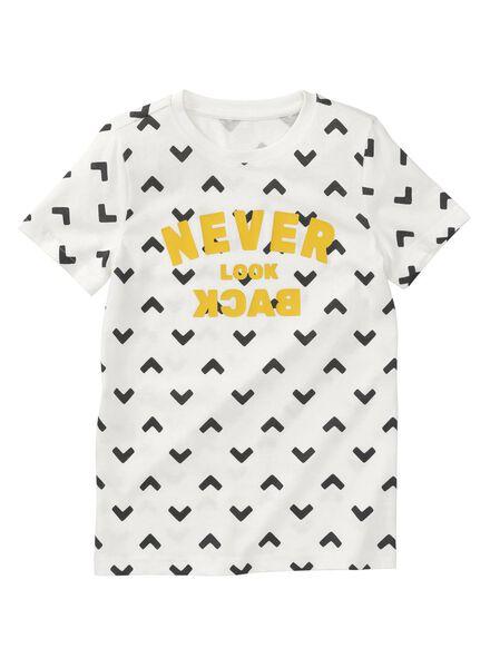 kinder t-shirt ecru - 1000008241 - HEMA