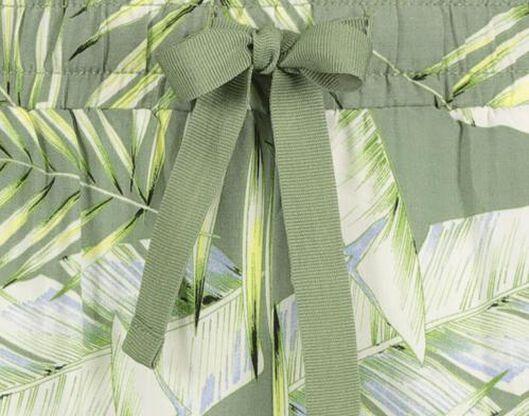 damesbroek groen groen - 1000019439 - HEMA