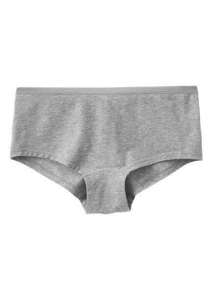dames boxer grijs grijs - 1000001904 - HEMA