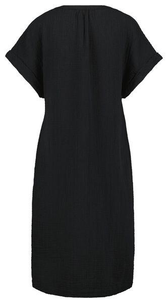 damesjurk zwart S - 36262336 - HEMA