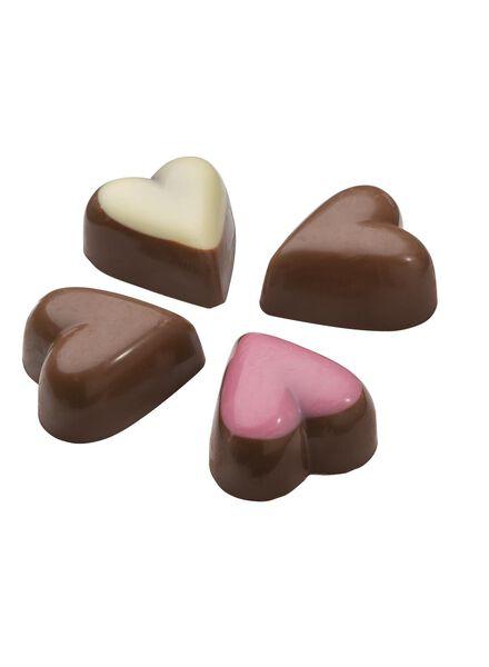 gevulde chocolade hartjes - 10330114 - HEMA
