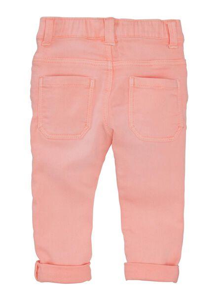 baby jogdenim fluor roze fluor roze - 1000011504 - HEMA