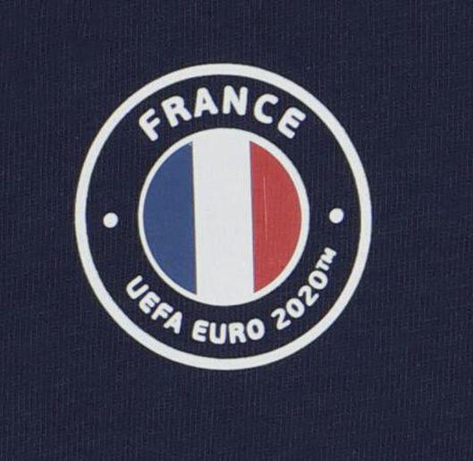 EK voetbal baby t-shirt en short blauw blauw - 1000019606 - HEMA